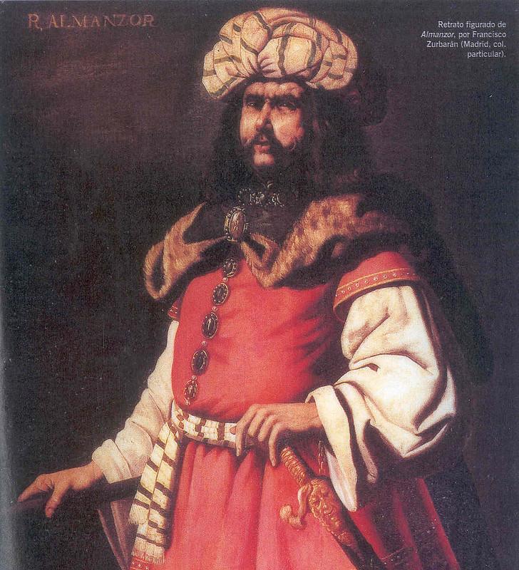 Portrait of Ahmad al-Mansur, by Francisco de Zurbarán