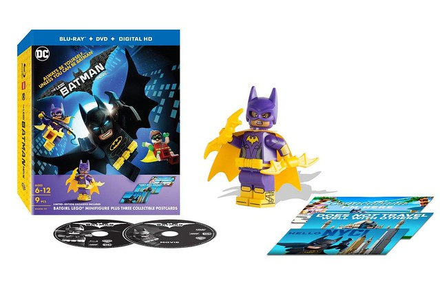 The LEGO Batman Movie DVD Blu-ray 2