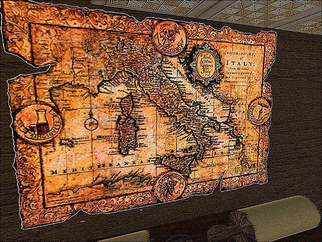 Romanum - Ancient Map of Italy