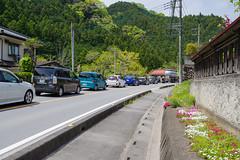 西吾野駅へ・・・R299は大渋滞。徒歩で車をゴボウ抜きです。