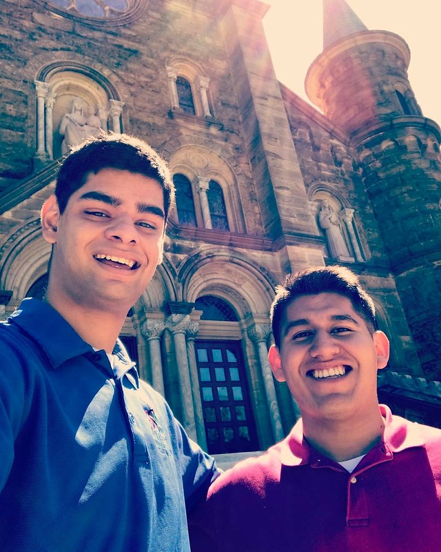 Fermin and Michael traveling