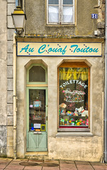 The doggie parlour, Belleme, Normandy, France. - Photo of Saint-Cyr-la-Rosière