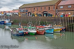 'SCARBOROUGH FISHING BOATS'