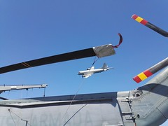 Fly by of the German MPRA - ESPS Galicia