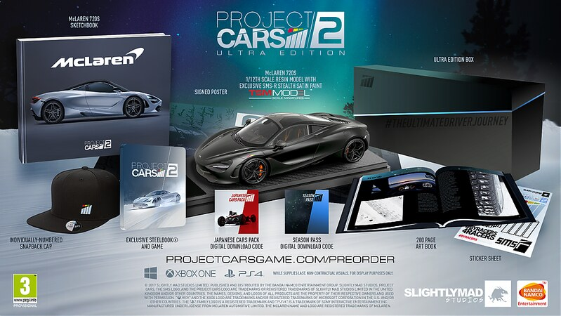 Project CARS 2 Limited Ultra