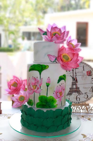 Cake by Rosa Elena Lopez