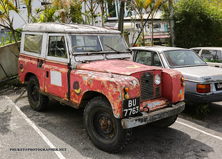 Icon of Cameron Highlands - old Land Rover Defender