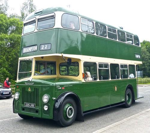225 LR 225 LRB 'Chesterfield Corporation Transport' No. 225 Leyland PD2/20 / Weymann on Dennis Basford's 'railsroadsrunways.blogspot.co.uk' B 225