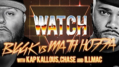 WATCH: BIGG K vs MATH HOFFA With KAP KALLOUS, ILLMAC & CHASE...