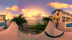 Relax In 4 Minutes! Enjoy Setting Sun On Tampa Bay Florida At My Home & Pool(3 min) - IMRAN™