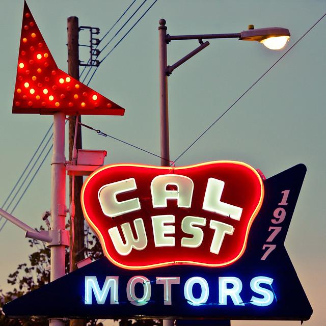 Cal West Motors Kind of Night, Plate 3