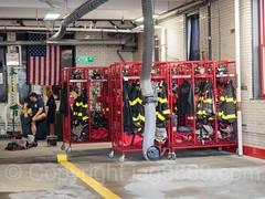 FDNY Firehouse Engine 97, Eastchester, Bronx, New York City