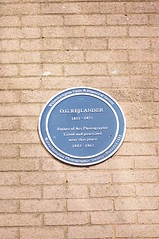Photo of O. G. Rejlander blue plaque