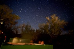 Stargazing in the Hot Spring