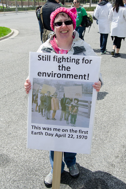 Still fighting for the environment!