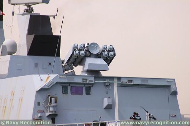 Το σύστημα CROTALE επί της φρεγάτας Aconit κλάσης La Fayette.