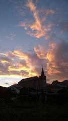 Church at Twilight, Lens, Switzerland