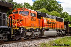 BNSF 9753 | EMD SD70MACe | NS Memphis District