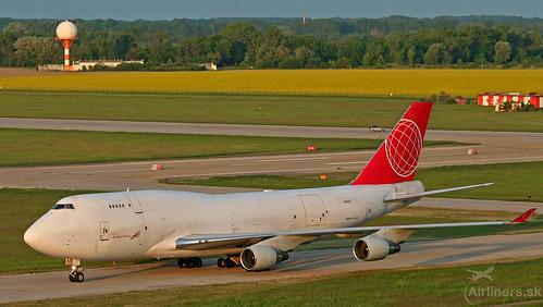OM-ACB ACG Air Cargo Global Boeing 747-433(BDSF)