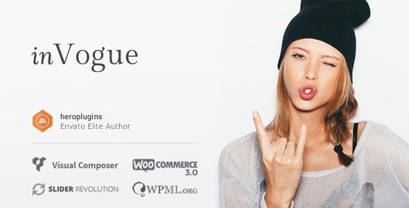 inVogue v1.24.4 - WordPress Fashion Shopping Theme