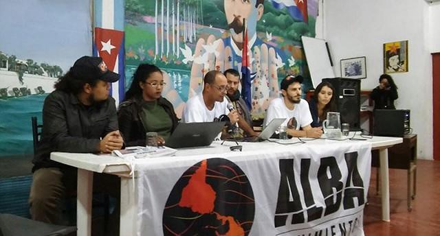 Entre el 15 y el 17 de mayo se reunió en Buenos Aires la Coordinación Política de ALBA Movimientos.  - Créditos: Notas Periodismo Popular