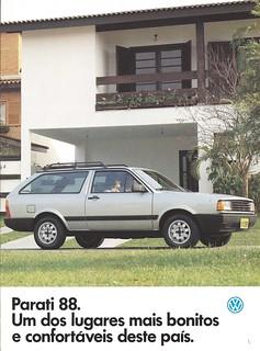 1988 Parati, Brazil's Volkswagen