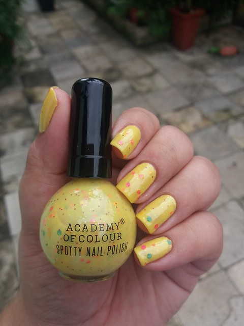 Spotty Nail Polish - Academy of colour