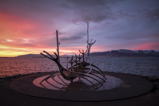A Sun Voyager Sunset