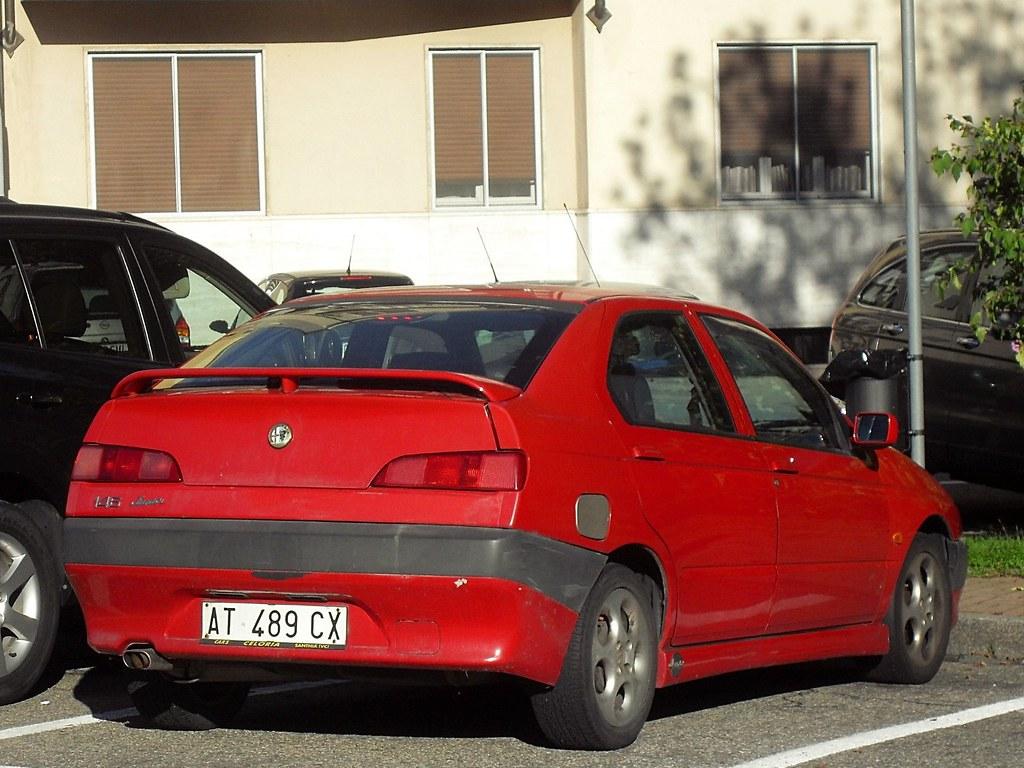 alfa romeo 146 1.4i 16v twin spark junior 1998   data immatr…   flickr