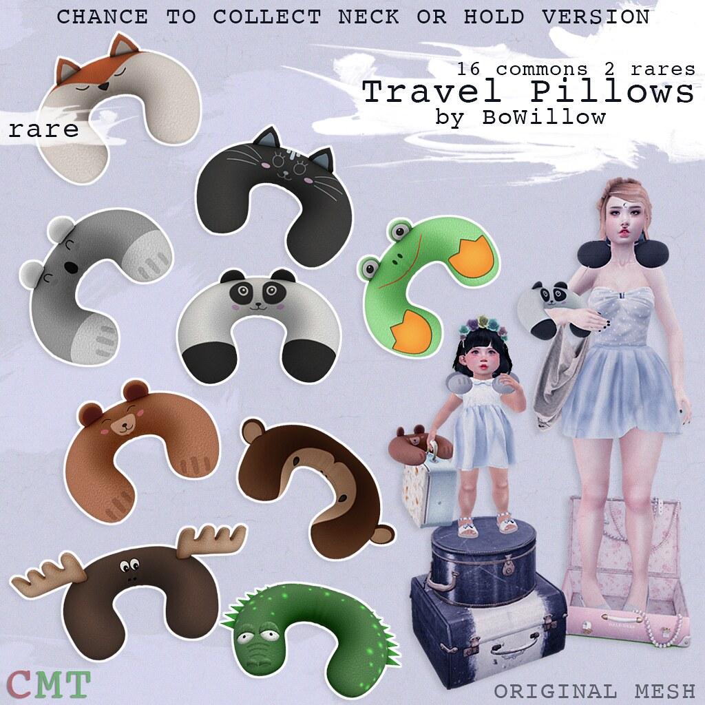 Travel Pillow Gacha Ad - SecondLifeHub.com