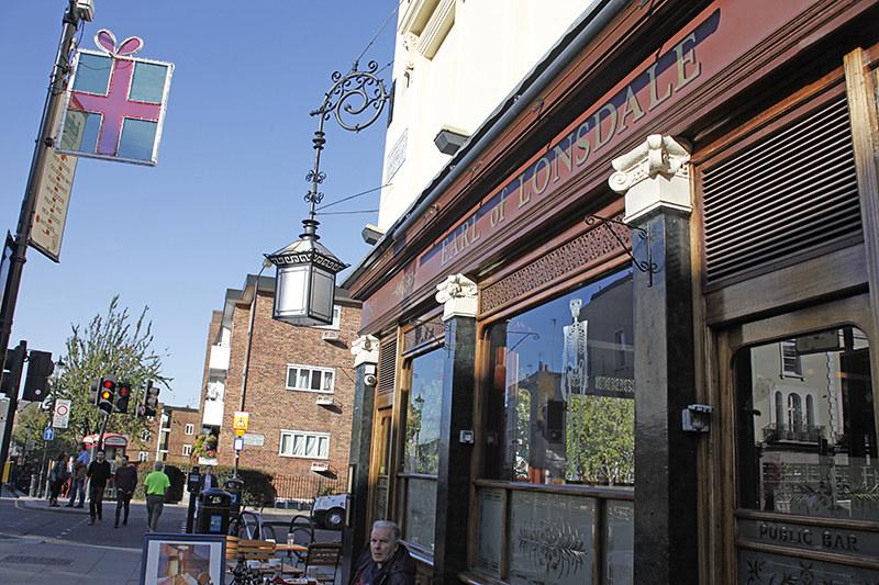 Earl of Lonsdale Pub, Portobello