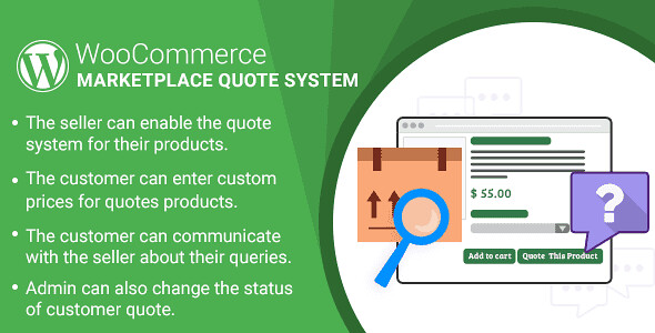 Marketplace Quote System WordPress Plugin free download