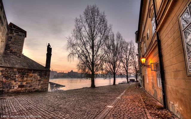 Early Morning in Prague