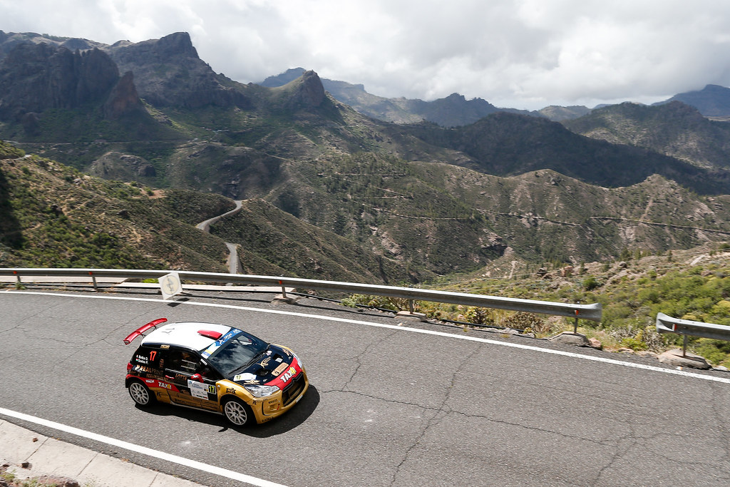 17 BOTKA David (HUN), SZELES Peter (HUN),  Citroen DS3 R5 Action during the 2017 European Rally Championship ERC Rally Islas Canarias, El Corte Inglés,  from May 4 to 6, at Las Palmas, Spain - Photo Alexandre Guillaumot / DPPI