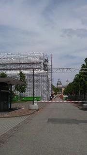 Sanierung des Bundesverfassungsgerichtes in Karlsruhe