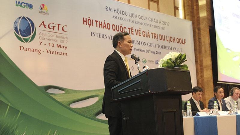 Đại hội du lịch golf châu Á 2017: Cơ hội để phát triển du lịch golf tại Đà Nẵng
