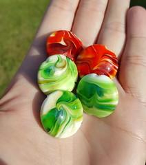 Swirled Beads