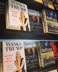 Women who work (for dad) #ivankatrump #trump #book #livro #shite #jfk