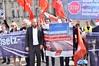 15.05.17: Protest vor Bundestag: Keine Autobahnprivatisierung