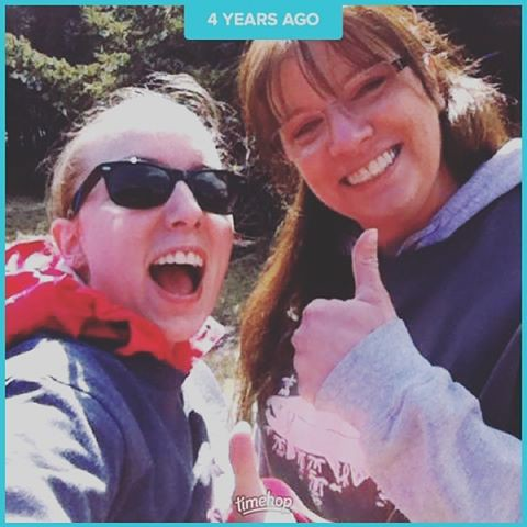 #timehop Me and my mom @kodiaknurse at the 2013 Salmon Run/Walk. :)
