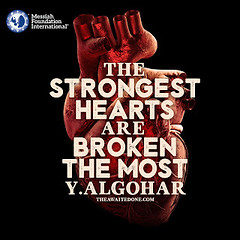 Quote of the Day: The Strongest Hearts...