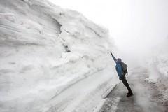 U Výrovky je 5 metrů sněhu