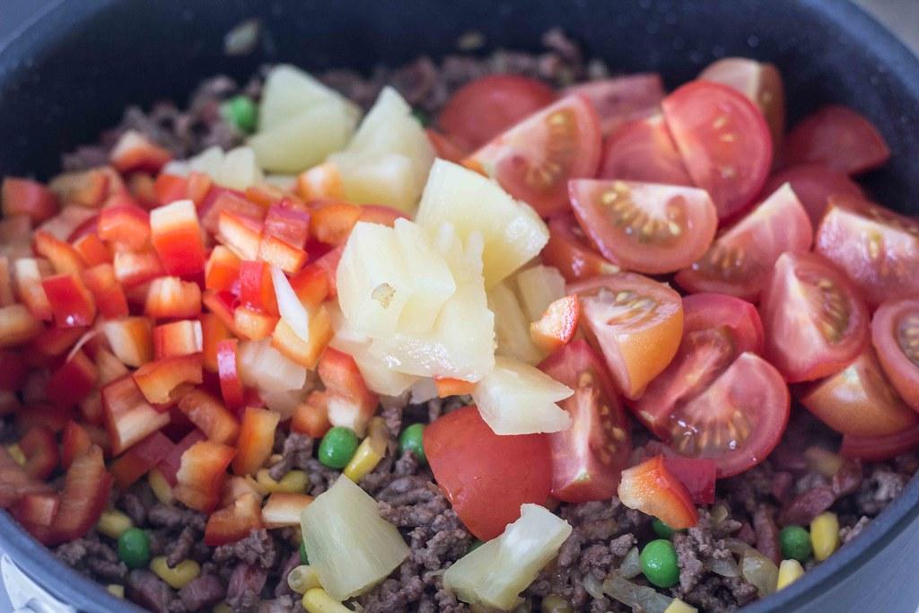 Risret med oksekød og ananas (9)