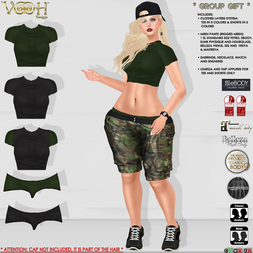 """ VOOH "" - GROUP GIFT 62 - SecondLifeHub.com"