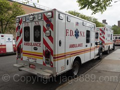 FDNY Ambulances, Bathgate, New York City