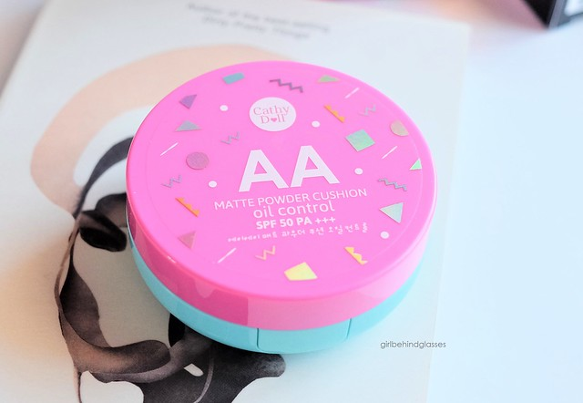 Cathy Doll AA Matte Powder Cushion Oil Control