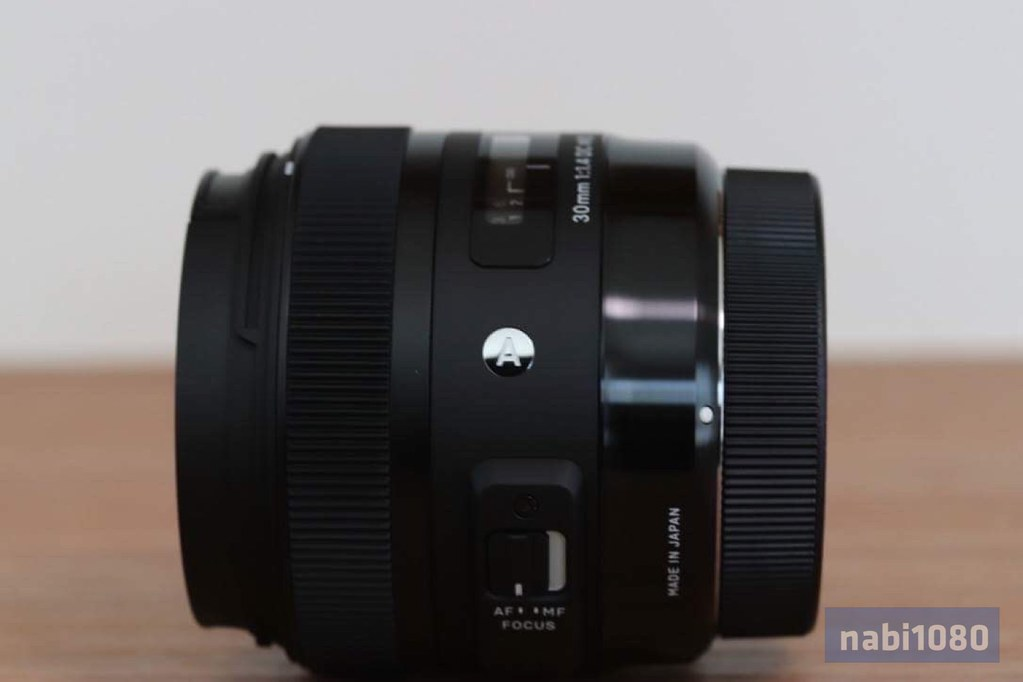 SIGMA 30mm F1.4 DC HSM12