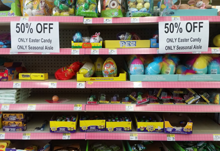 Easter Candy Sale