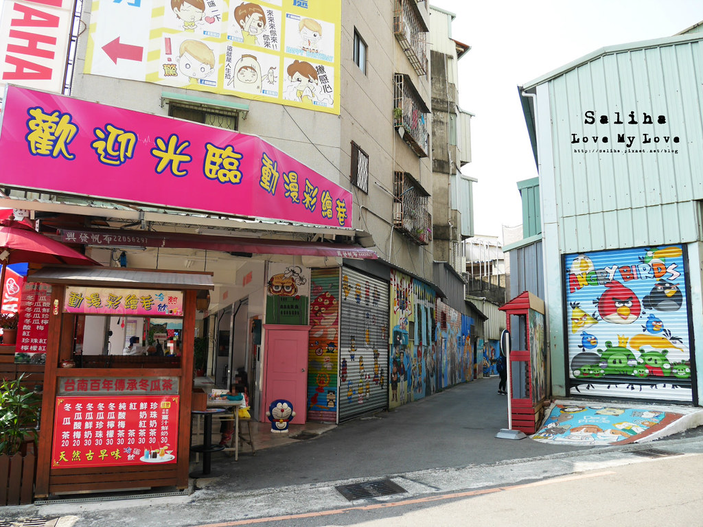 台中一日遊景點推薦西區林森路動漫巷 (1)