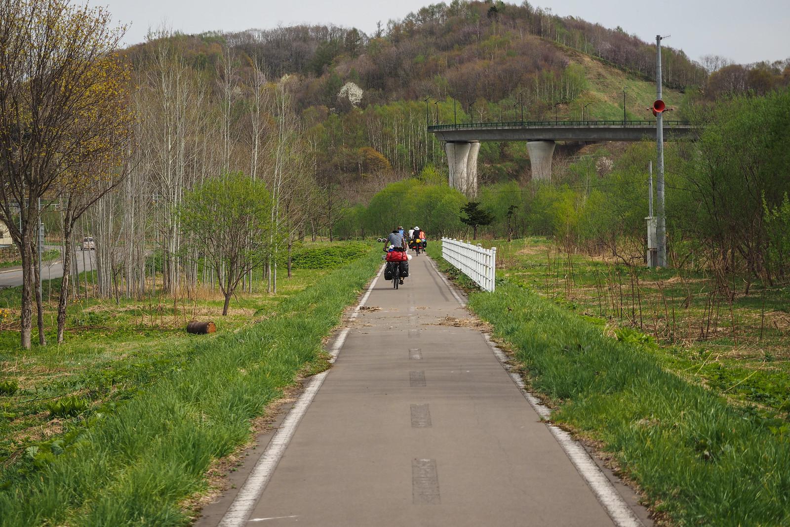 Cycle Touring Naganuma, Tsukigata, Akabira, and Mikasa (Hokkaido, Japan)